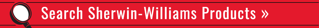 banner ad directing to search sherwin williams products